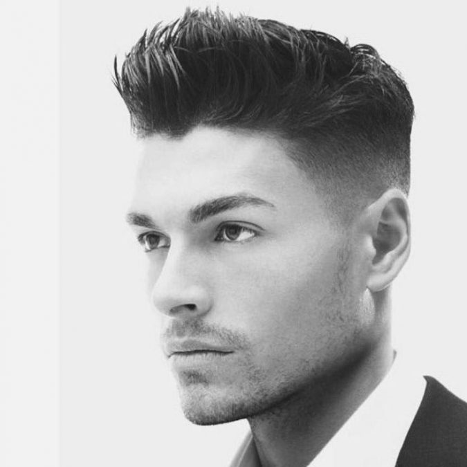 men-hairstyle-flat-top-fade-temple-3-675x675 7 Crazy Curly Hairstyles for Black Men in 2020