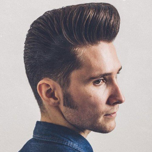 po 10 Hairstyles Will Suit Men with Oval Faces