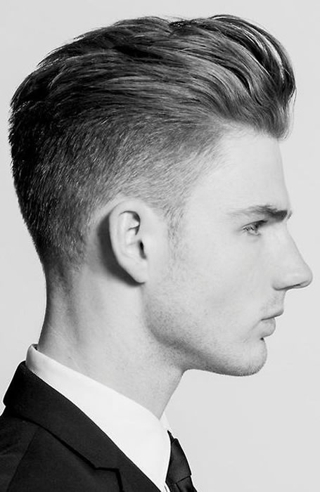 poo 10 Hairstyles Will Suit Men with Oval Faces