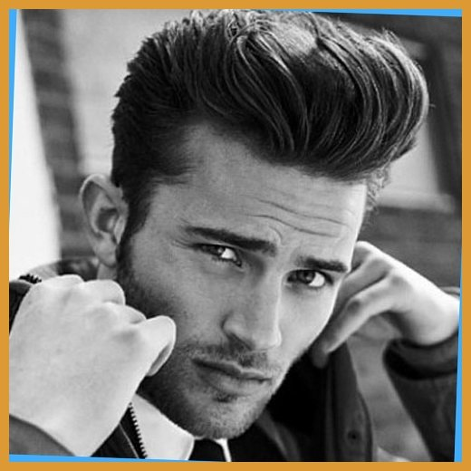 pooo 10 Hairstyles Will Suit Men with Oval Faces