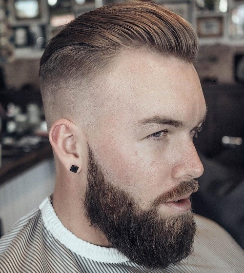 sb 10 Hairstyles Will Suit Men with Oval Faces