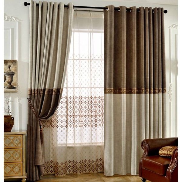 sheer-curtains-1 7 Luxurious Blackout Curtain Ideas That Will Turn Your Window into a Piece of Art