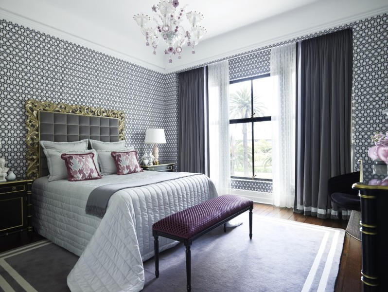 sheer-curtains-14 7 Luxurious Blackout Curtain Ideas That Will Turn Your Window into a Piece of Art