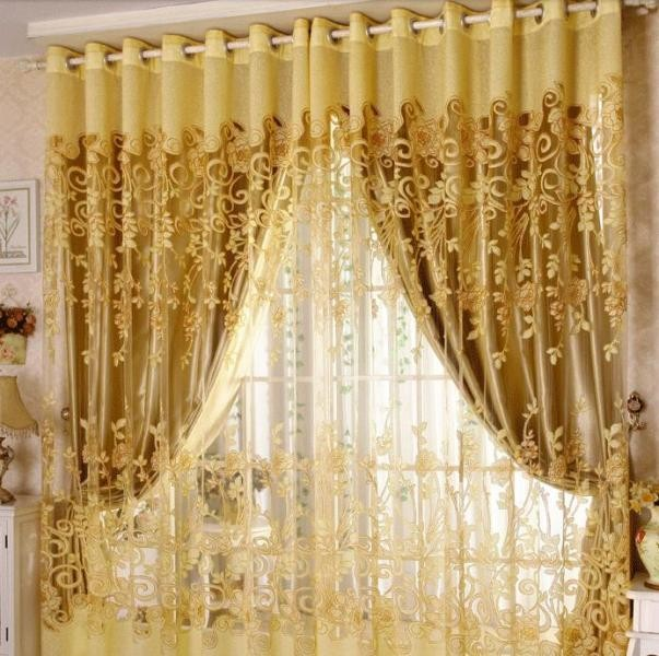 sheer-curtains-2 7 Luxurious Blackout Curtain Ideas That Will Turn Your Window into a Piece of Art
