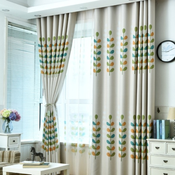 sheer-curtains-4 7 Luxurious Blackout Curtain Ideas That Will Turn Your Window into a Piece of Art