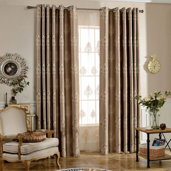sheer-curtains-5 7 Luxurious Blackout Curtain Ideas That Will Turn Your Window into a Piece of Art