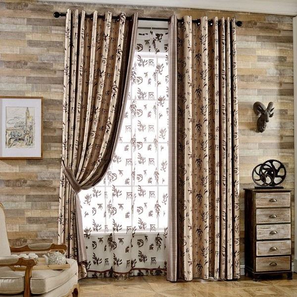 sheer-curtains-6 7 Luxurious Blackout Curtain Ideas That Will Turn Your Window into a Piece of Art