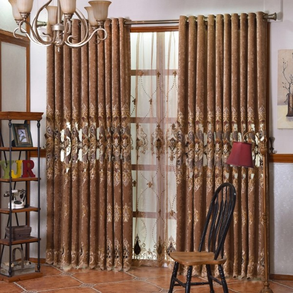 sheer-curtains-7 7 Luxurious Blackout Curtain Ideas That Will Turn Your Window into a Piece of Art