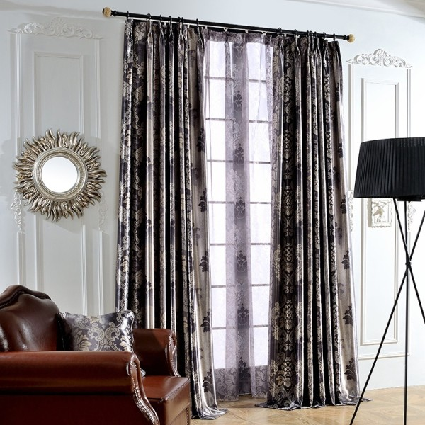 sheer-curtains-8 7 Luxurious Blackout Curtain Ideas That Will Turn Your Window into a Piece of Art
