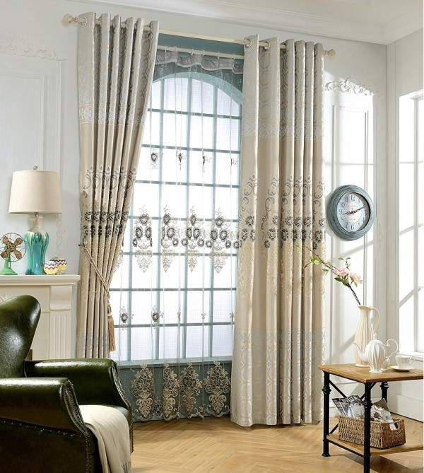 sheer-curtains 7 Luxurious Blackout Curtain Ideas That Will Turn Your Window into a Piece of Art