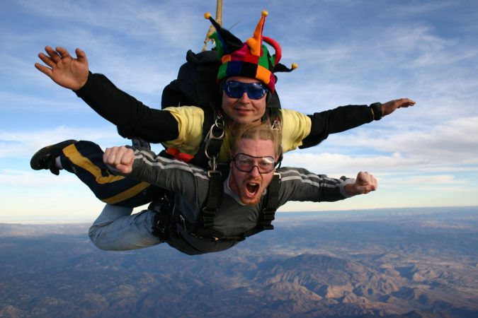 skydiving-tandem-jump-1-675x450 History of Skydiving: The Ultimate Thrill