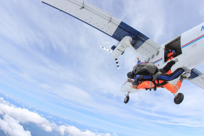 skydiving-tandem-jump-2-675x450 History of Skydiving: The Ultimate Thrill