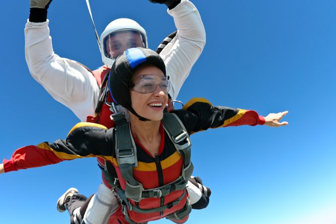 skydiving-tandem-jump-675x450 History of Skydiving: The Ultimate Thrill