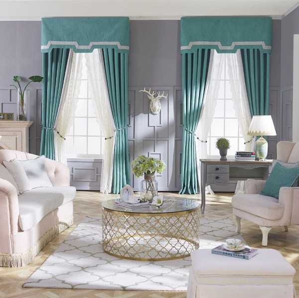 stunning-valances-10 7 Luxurious Blackout Curtain Ideas That Will Turn Your Window into a Piece of Art