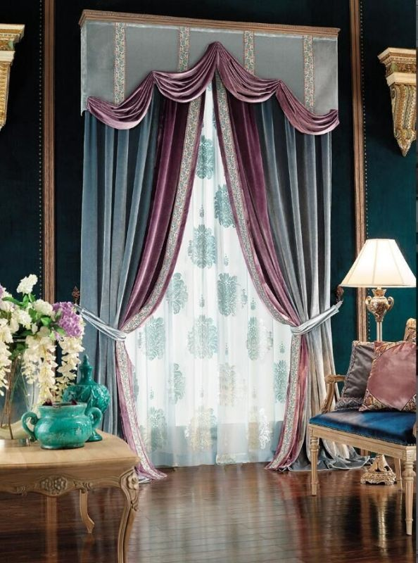 stunning-valances-2 7 Luxurious Blackout Curtain Ideas That Will Turn Your Window into a Piece of Art