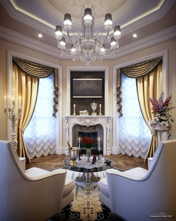 stunning-valances-3 7 Luxurious Blackout Curtain Ideas That Will Turn Your Window into a Piece of Art