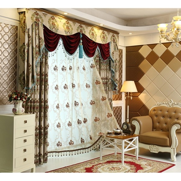 stunning-valances-6 7 Luxurious Blackout Curtain Ideas That Will Turn Your Window into a Piece of Art