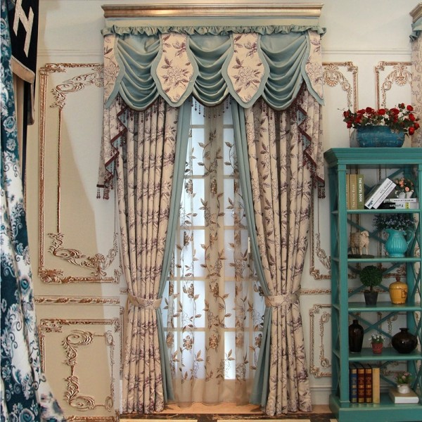 stunning-valances-8 7 Luxurious Blackout Curtain Ideas That Will Turn Your Window into a Piece of Art
