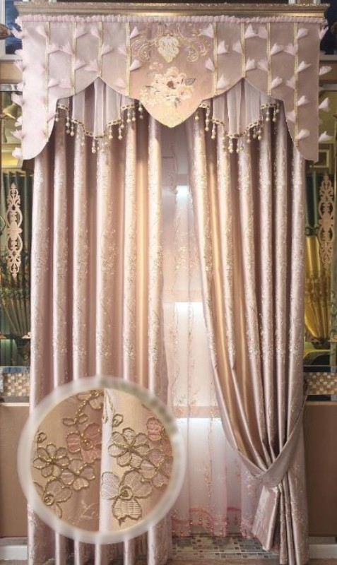 stunning-valances 7 Luxurious Blackout Curtain Ideas That Will Turn Your Window into a Piece of Art