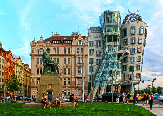 the-Dancing-House-prague-675x484 Top 10 Things to Do in Prague Evenings