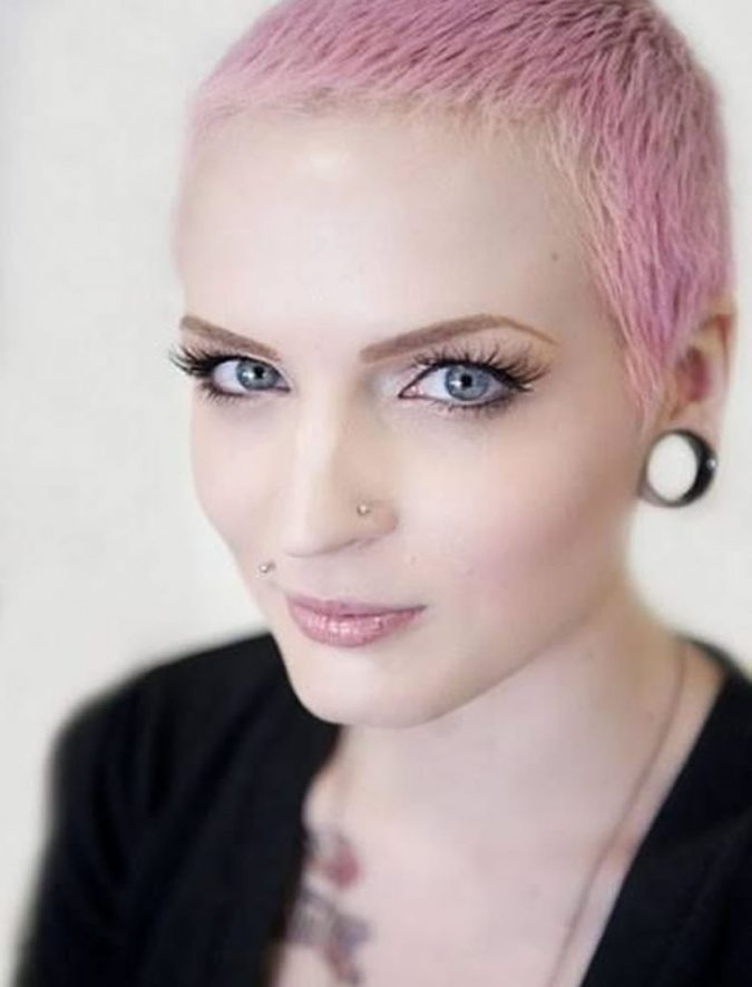 woman-shaved-head-pixie-haircuts-1-675x886 Know What's In and Out in the Fashion World