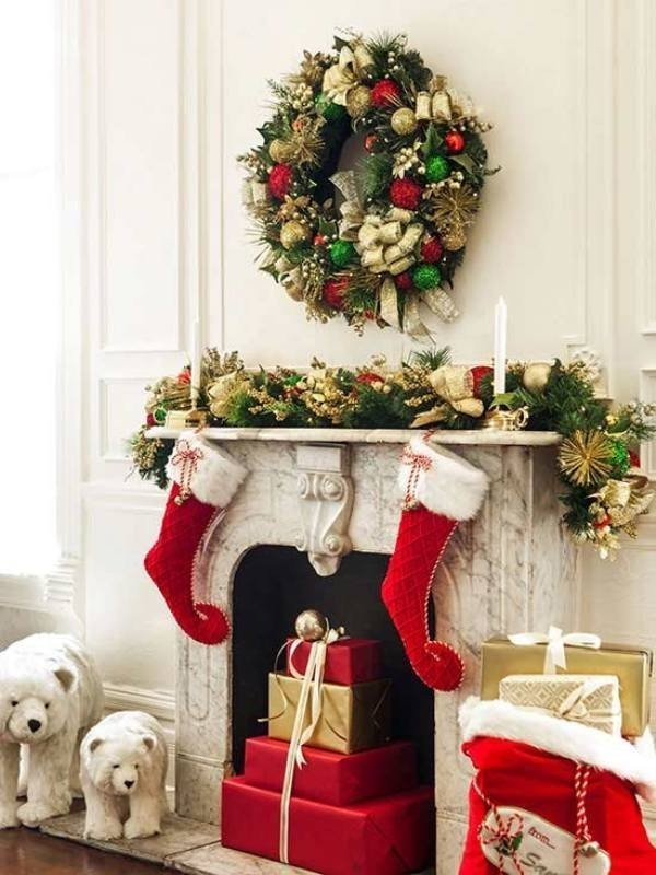 Christmas-decoration-ideas-125 97+ Awesome Christmas Decoration Trends & Ideas 2018