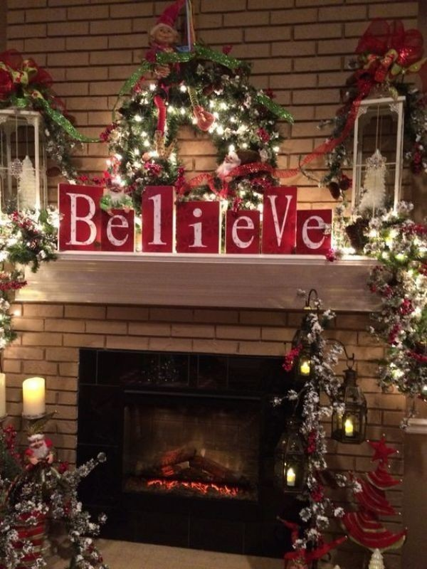 Christmas-decoration-ideas-129 97+ Awesome Christmas Decoration Trends & Ideas 2018