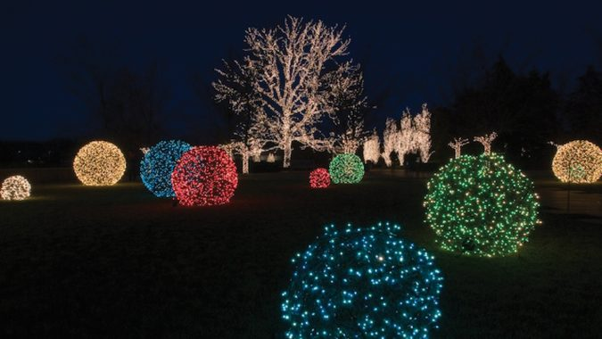 Christmas-light-balls-out-of-the-chicken-wire-675x380 Top 10 Outdoor Christmas Light Ideas for 2018