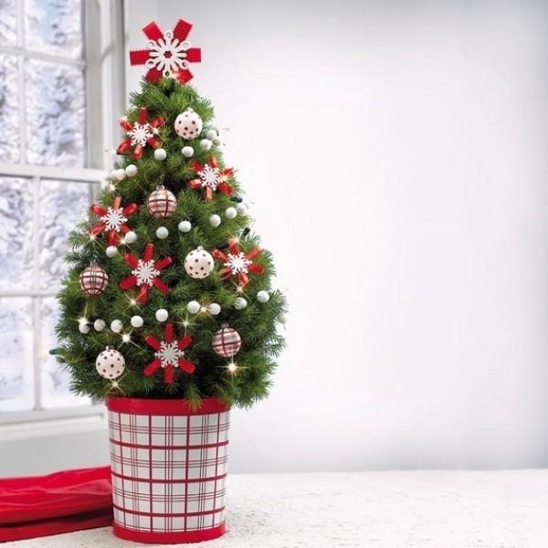 Christmas-tree-decoration-ideas-2018-101 96+ Fabulous Christmas Tree Decoration Ideas 2018