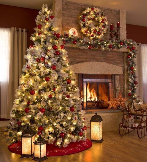 Christmas-tree-decoration-ideas-2018-105 96+ Fabulous Christmas Tree Decoration Ideas 2018