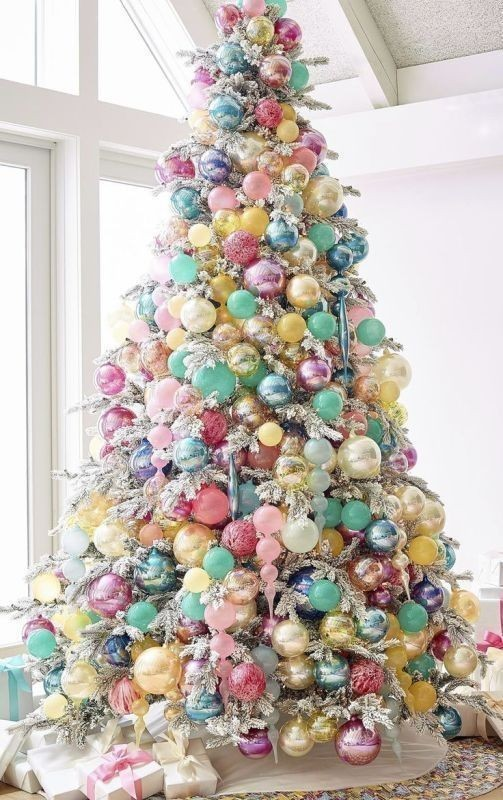 Christmas-tree-decoration-ideas-2018-11 96+ Fabulous Christmas Tree Decoration Ideas 2018