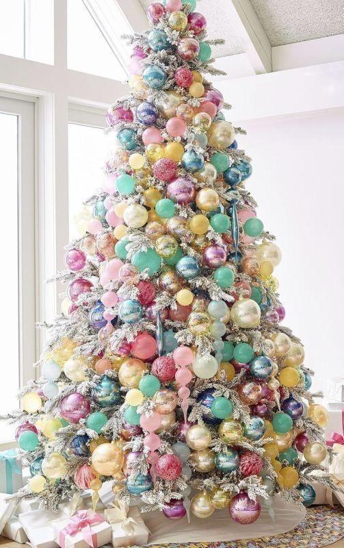 Christmas-tree-decoration-ideas-2018-11 96+ Fabulous Christmas Tree Decoration Ideas 2018