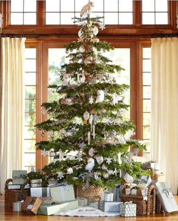 Christmas-tree-decoration-ideas-2018-111 96+ Fabulous Christmas Tree Decoration Ideas 2018