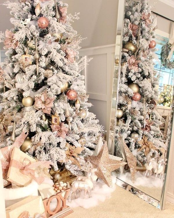 Christmas-tree-decoration-ideas-2018-114 96+ Fabulous Christmas Tree Decoration Ideas 2018