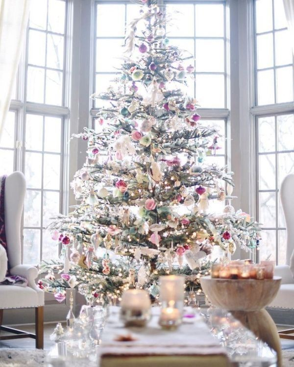 Christmas-tree-decoration-ideas-2018-115 96+ Fabulous Christmas Tree Decoration Ideas 2018