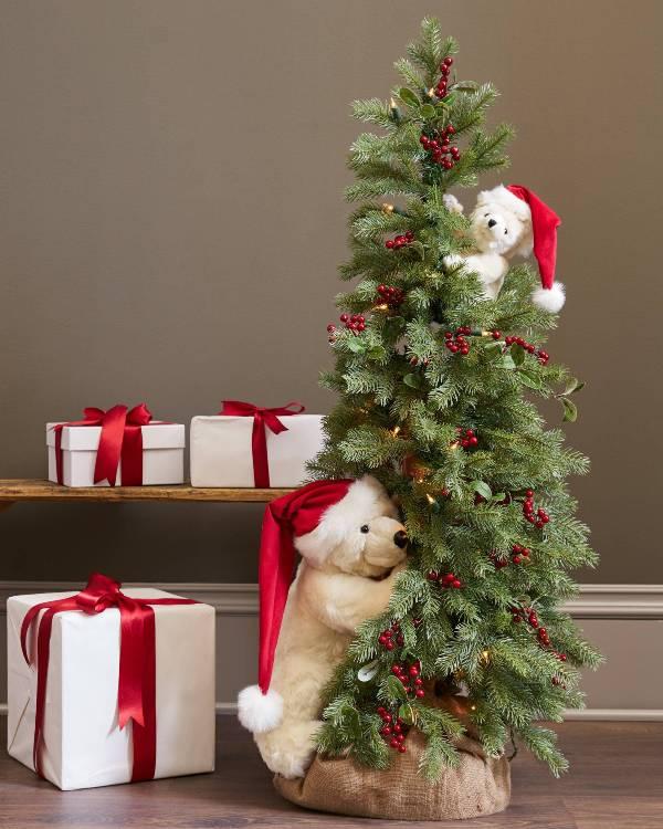 Christmas-tree-decoration-ideas-2018-117 96+ Fabulous Christmas Tree Decoration Ideas 2018