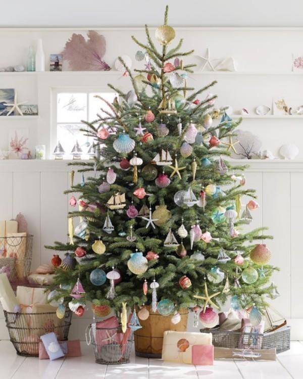 Christmas-tree-decoration-ideas-2018-120 96+ Fabulous Christmas Tree Decoration Ideas 2018