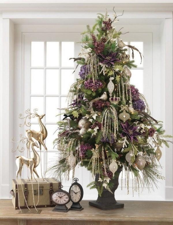 Christmas-tree-decoration-ideas-2018-122 96+ Fabulous Christmas Tree Decoration Ideas 2018