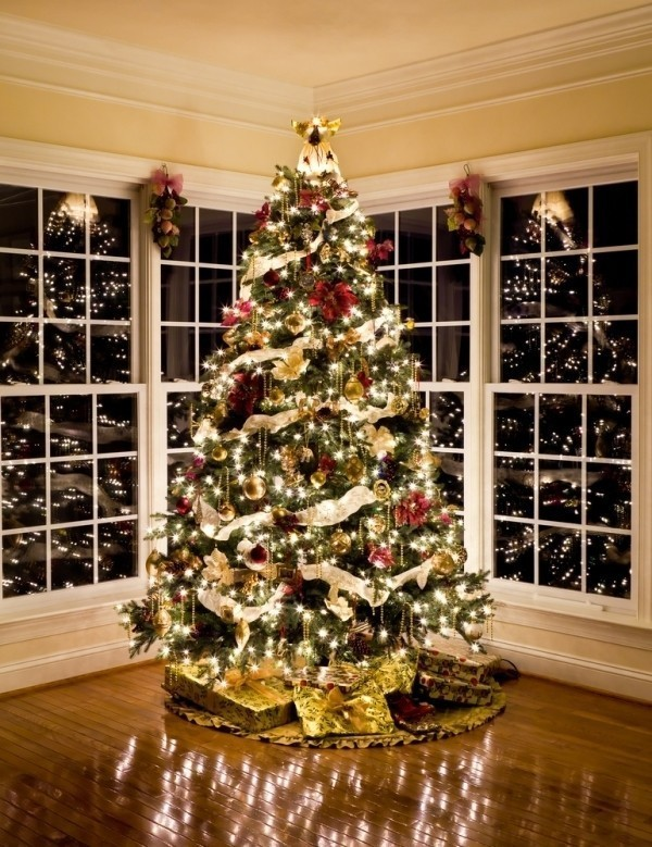 Christmas-tree-decoration-ideas-2018-123 96+ Fabulous Christmas Tree Decoration Ideas 2018