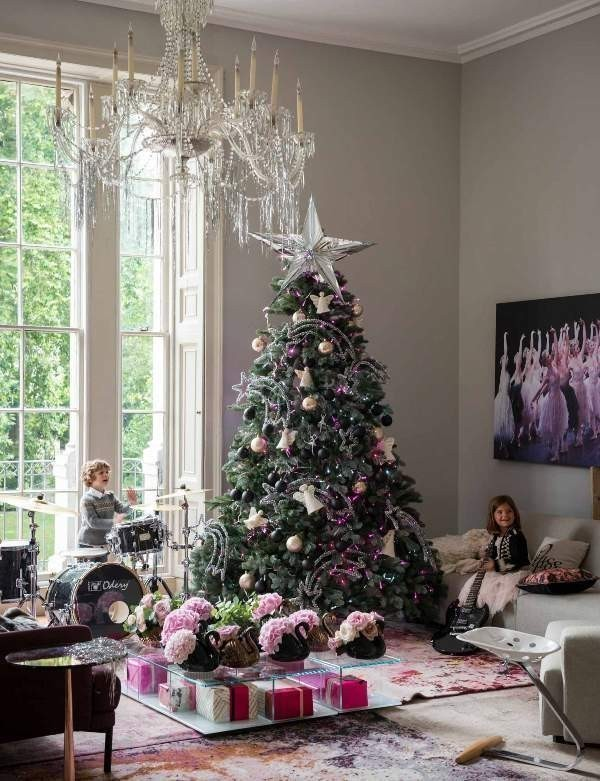 Christmas-tree-decoration-ideas-2018-125 96+ Fabulous Christmas Tree Decoration Ideas 2018