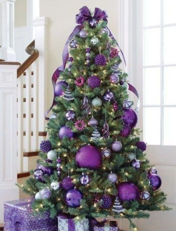 Christmas-tree-decoration-ideas-2018-126 96+ Fabulous Christmas Tree Decoration Ideas 2018