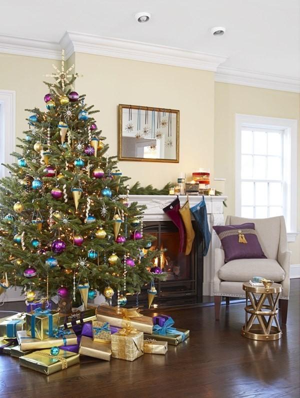 Christmas-tree-decoration-ideas-2018-127 96+ Fabulous Christmas Tree Decoration Ideas 2018