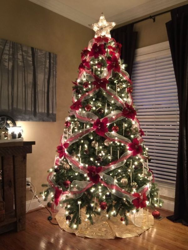 Christmas-tree-decoration-ideas-2018-128 96+ Fabulous Christmas Tree Decoration Ideas 2018