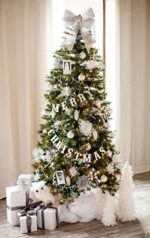 Christmas-tree-decoration-ideas-2018-13 96+ Fabulous Christmas Tree Decoration Ideas 2018