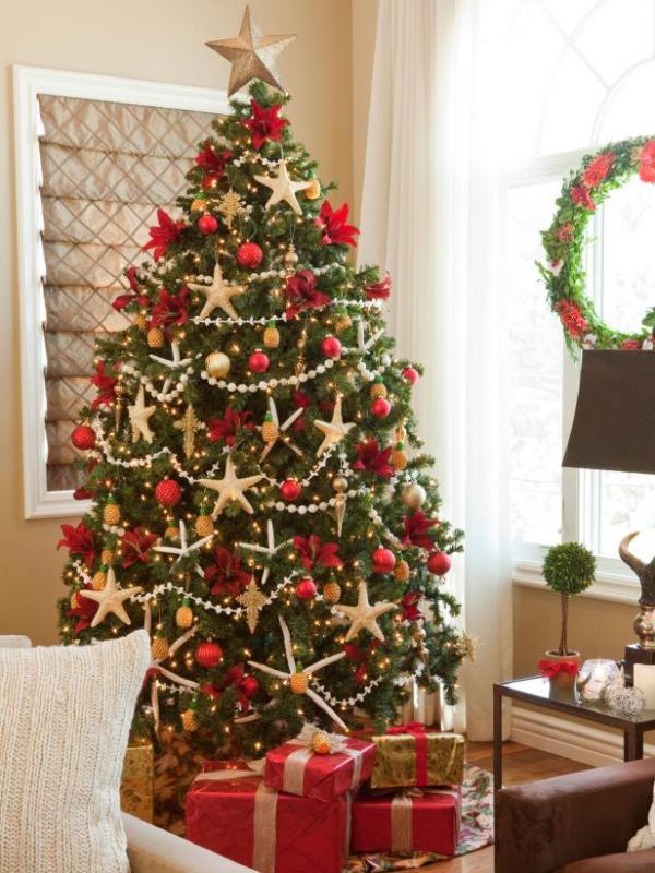 Christmas-tree-decoration-ideas-2018-130 96+ Fabulous Christmas Tree Decoration Ideas 2018