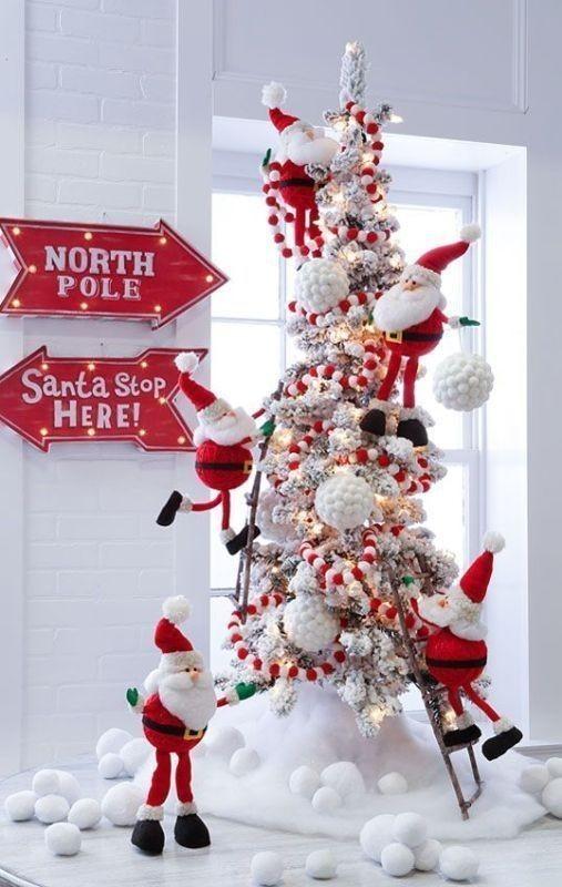 Christmas-tree-decoration-ideas-2018-14 96+ Fabulous Christmas Tree Decoration Ideas 2018