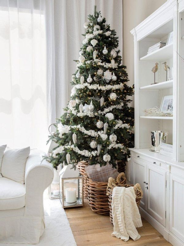 Christmas-tree-decoration-ideas-2018-142 96+ Fabulous Christmas Tree Decoration Ideas 2018