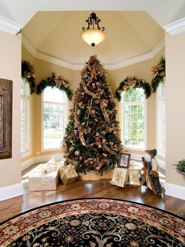 Christmas-tree-decoration-ideas-2018-144 96+ Fabulous Christmas Tree Decoration Ideas 2018