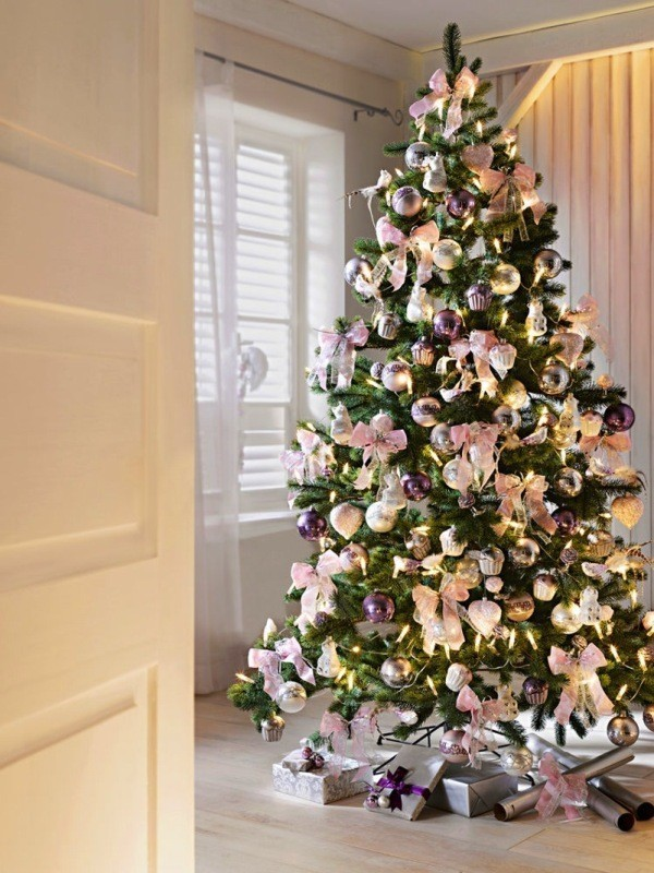 Christmas-tree-decoration-ideas-2018-147 96+ Fabulous Christmas Tree Decoration Ideas 2018