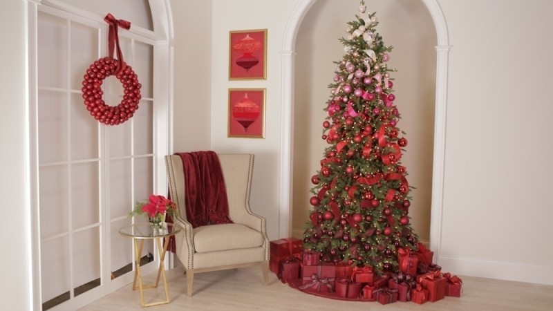 Christmas-tree-decoration-ideas-2018-151 96+ Fabulous Christmas Tree Decoration Ideas 2018